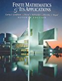 Book Cover Finite Mathematics and Its Applications (7th Edition)