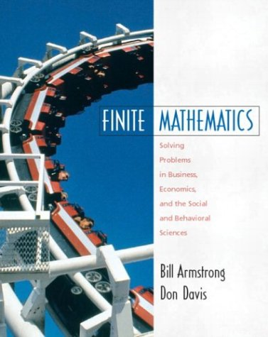 Book Cover Finite Mathematics