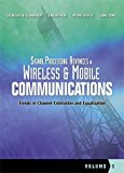 Book Cover Signal Processing Advances in Wireless and Mobile Communications, Volume 1: Trends in Channel Estimation and Equalization