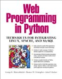 Book Cover Web Programming in Python: Techniques for Integrating Linux, Apache, and MySQL