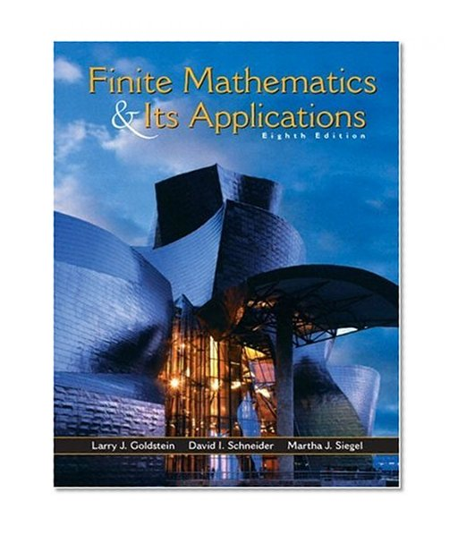 Book Cover Finite Mathematics and Its Applications