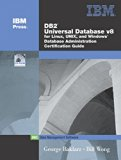 Book Cover DB2 Universal Database V8 for Linux, UNIX, and Windows Database Administration Certification Guide (5th Edition)