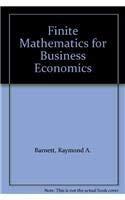 Book Cover Finite Mathematics for Business Economics