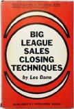 Book Cover Big League Sales Closing Techniques