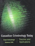 Book Cover Canadian Criminology Today: Theories and Applications for Law Enforcement