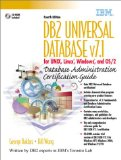 Book Cover DB2 Universal Database  v7.1 for UNIX, Linux, Windows and OS/2 Database Administration Certification Guide (4th Edition)