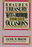 Book Cover Braude's Treasury Wit & Humor Revised