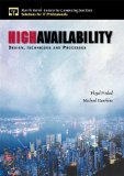 Book Cover High Availability: Design, Techniques and Processes
