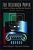 Book Cover The Research Paper: A Guide to Library and Internet Research (3rd Edition)
