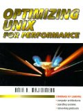 Book Cover Optimizing UNIX for Performance