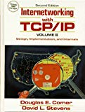Book Cover Internetworking with TCP/IP: Vol.II, Design, Implementation, and Internals