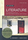 Book Cover Literature: An Introduction to Fiction, Poetry, Drama, and Writing: AP Edition