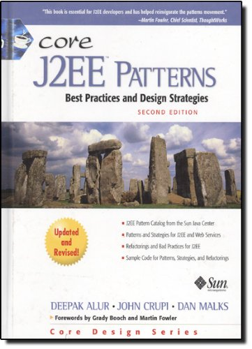 Book Cover Core J2EE Patterns: Best Practices and Design Strategies (2nd Edition)