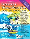 Book Cover Internet & World Wide Web How to Program (3rd Edition) (How to Program (Deitel))