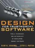 Book Cover Design for Trustworthy Software: Tools, Techniques, and Methodology of Developing Robust Software