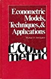 Book Cover Econometric Models, Techniques, and Applications (Advanced Textbooks in Economics)