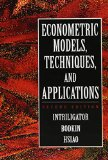 Book Cover Econometric Models, Techniques, and Applications (2nd Edition)