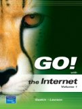 Book Cover GO! with the Internet Volume 1