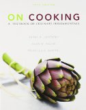 Book Cover On Cooking: A Textbook of Culinary Fundamentals with Cooking Techniques DVD and Study Guide (5th Edition)