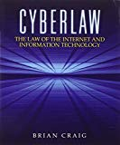 Book Cover Cyberlaw: The Law of the Internet and Information Technology