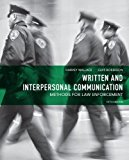 Book Cover Written and Interpersonal Communication: Methods for Law Enforcement (5th Edition)