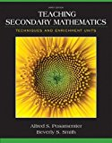Book Cover Teaching Secondary Mathematics: Techniques and Enrichment Units