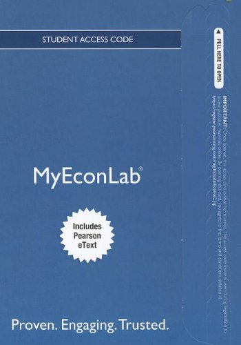 Book Cover NEW MyEconLab with Pearson eText -- Access Card -- for The Economics of Money, Banking and Financial Markets (MyEconLab (Access Codes))