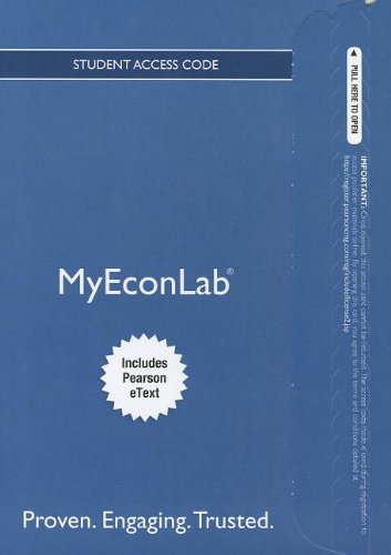 Book Cover NEW MyEconLab with Pearson eText -- Access Card -- for The Economics of Money, Banking and Financial Markets, Business School Edition (MyEconLab (Access Codes))