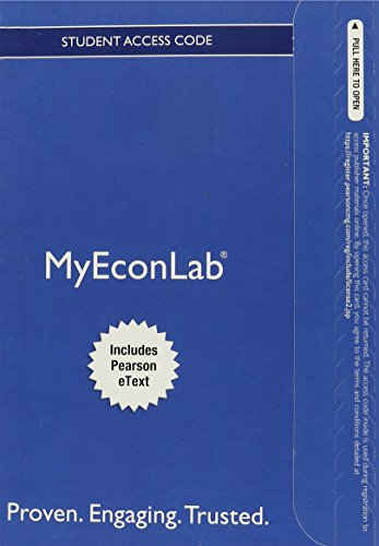 Book Cover NEW MyLab with Pearson eText -- Access Card -- for Money, Banking, and the Financial System (MyEconLab (Access Codes))
