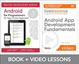 Book Cover Android App Development Fundamentals LiveLessons Bundle (Livelessons: Deitel Developers Series)