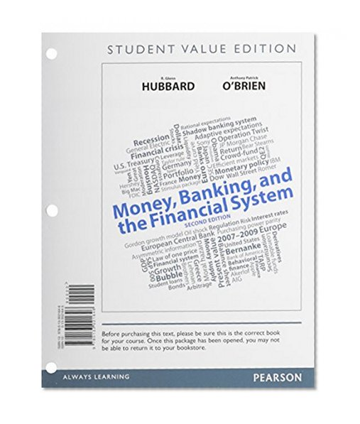 Book Cover Money, Banking, and the Financial System, Student Value Edition (2nd Edition)
