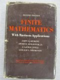 Book Cover Finite Mathematics With Business Applications
