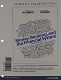 Book Cover Money, Banking, and the Financial System, Student Value Edition Plus NEW MyEconLab with Pearson eText -- Access Card Package (2nd Edition)