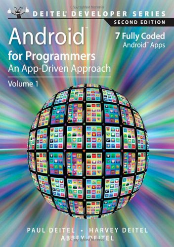 Book Cover Android for Programmers: An App-Driven Approach (2nd Edition) (Deitel Developer Series)
