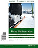 Book Cover Finite Mathematics Books a la Carte Edition (11th Edition)