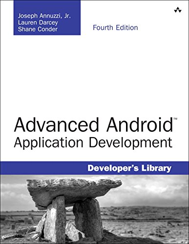 Book Cover Advanced Android Application Development (4th Edition) (Developer's Library)
