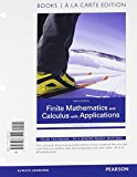 Book Cover Finite Mathematics and Calculus with Applications Books a la Carte Plus MyMathLab Package (10th Edition)