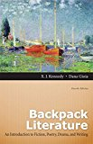 Book Cover Backpack Literature: An Introduction to Fiction, Poetry, Drama, and Writing Plus MyLiteratureLab -- Access Card Package (4th Edition)