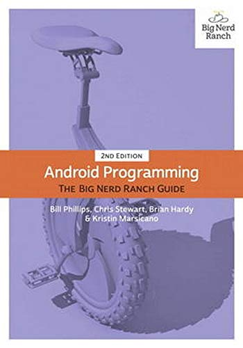 Book Cover Android Programming: The Big Nerd Ranch Guide (2nd Edition)