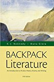 Book Cover Backpack Literature: An Introduction to Fiction, Poetry, Drama, and Writing Plus REVEL -- Access Card Package (5th Edition)