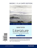 Book Cover Literature: An Introduction to Fiction, Poetry, Drama, and Writing, Compact Edition, Books a la Carte (8th Edition)