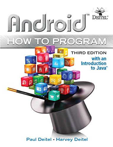 Book Cover Android How to Program (3rd Edition)
