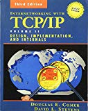 Book Cover Internetworking with TCP/IP Vol. II: ANSI C Version: Design, Implementation, and Internals (3rd Edition)