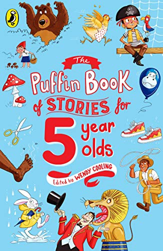 Book Cover Puffin Book Of Stories For Five Year Olds (Young Puffin Read Aloud)