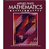 Book Cover Applied Finite Mathematics