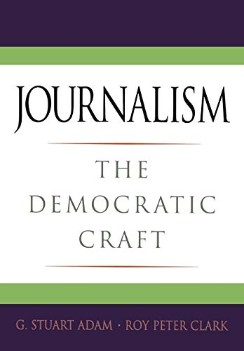 Book Cover Journalism: The Democratic Craft
