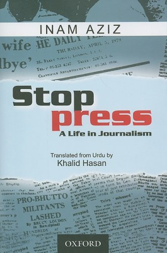 Book Cover Stop Press: A Life in Journalism