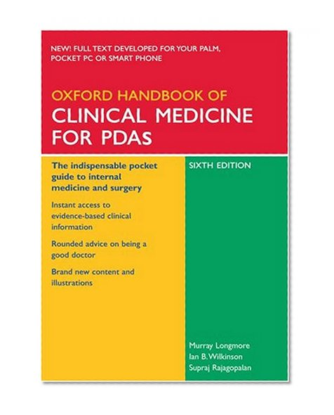 Book Cover Oxford Handbook of Clinical Medicine for PDA (Oxford Handbooks Series)