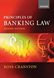 Book Cover Principles of Banking Law