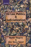 Book Cover On Law, Politics, and Judicialization